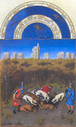 b521f791cd-limburg kalender tres riches heures, f 12v december