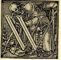 The medieval dance of death.